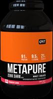QNT Koolhydraatarm Zero Carb Metapure - 2000g - Strawberry