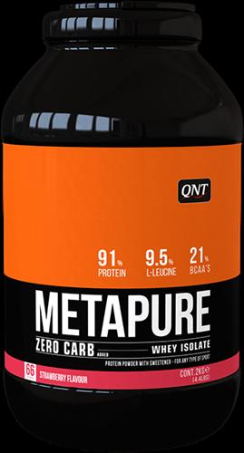 QNT Zero Carb Metapure - 2000g - Strawberry