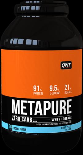 QNT Zero Carb Metapure - 2000g - Coconut
