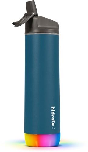 Hidrate Spark Steel Smart Waterfles - 620 ml - Straw - Deep Blue