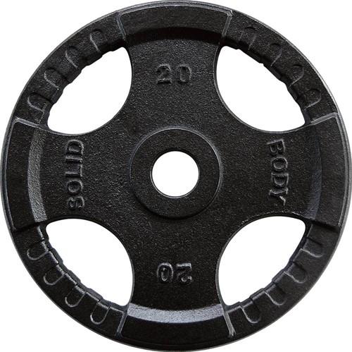 Body-Solid Olympische Gietijzeren Halterschijf - 20 kg