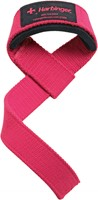 Harbinger Padded lifting strap roze-1