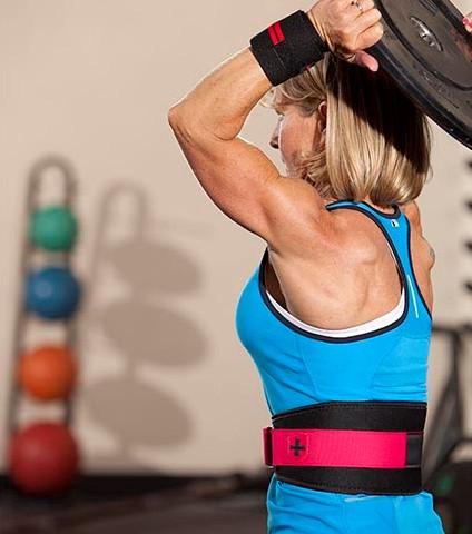 Harbinger Womens FirmFit Foam Core Nylon Belt-2
