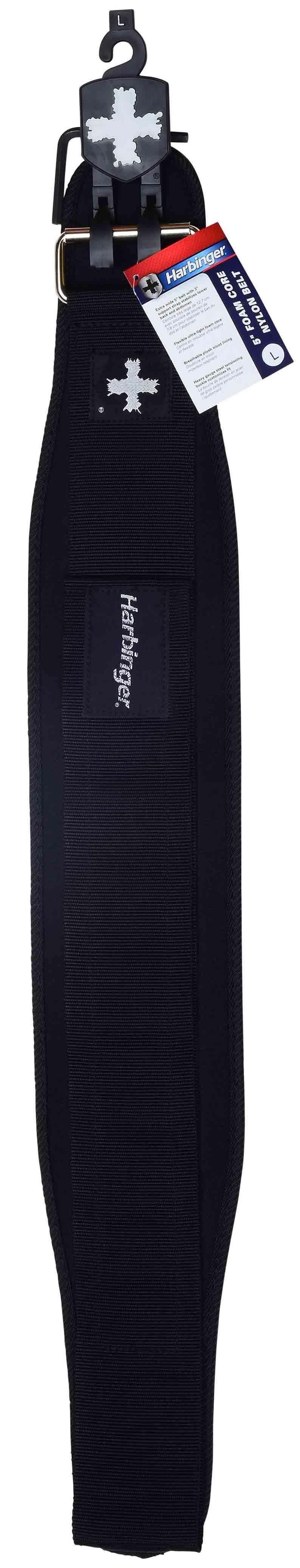 De pro foam core belt is voor de serieuze gewichtheffer. de extra brede riem stabiliseert de onderrug  en ...