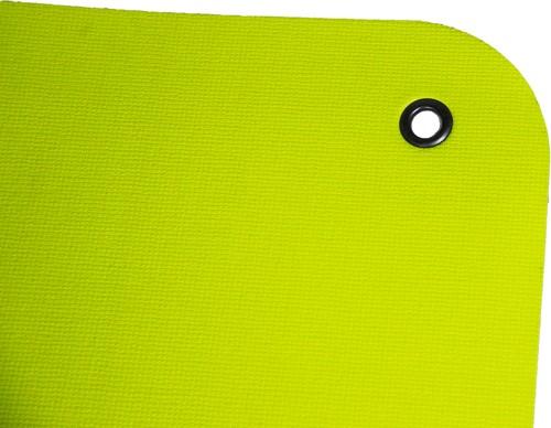 Reha Fit Fitnessmat - Yogamat - Limoen/Grijs 180x65 cm