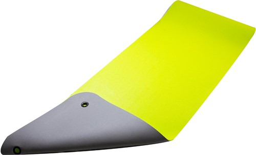 Reha Fit Fitnessmat Limoen/Grijs 180x65 cm