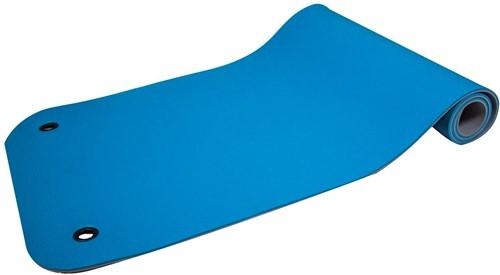 Reha Fit Fitnessmat Turquoise/Grijs 180x65 cm-2