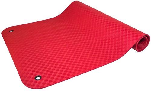 Reha Fit Fitnessmat - Yogamat - XL Rood 180x100 cm