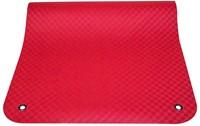 Reha Fit Fitnessmat - Yogamat - XL Rood 180x100 cm-2