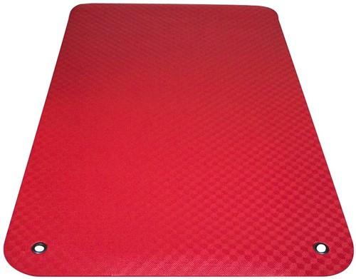Reha Fit Fitnessmat - Yogamat - XL Rood 180x100 cm-3