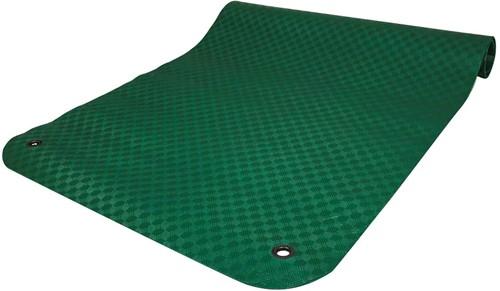 Reha Fit Fitnessmat - Yogamat - XL Groen 180x100 cm-2