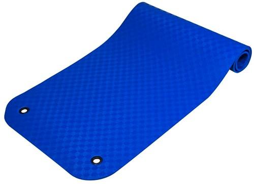 Reha Fit Fitnessmat - Yogamat -  XL Blauw 180x100 cm-3