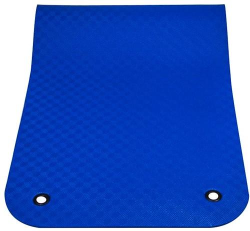 Reha Fit Fitnessmat - Yogamat -  XL Blauw 180x100 cm-2