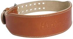 "Harbinger Classic 4"" Oiled Leather Gewichthefriem - 10 cm"