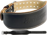 Harbinger 4 Inch Padded Leather Belt-1