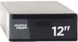 Muscle Power Safe Plyo Box 12 - 30 cm