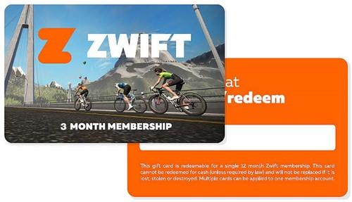 Zwift Gift Card 3 maanden