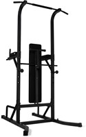 Virtufit Power Tower Deluxe met Fitnessbank-3