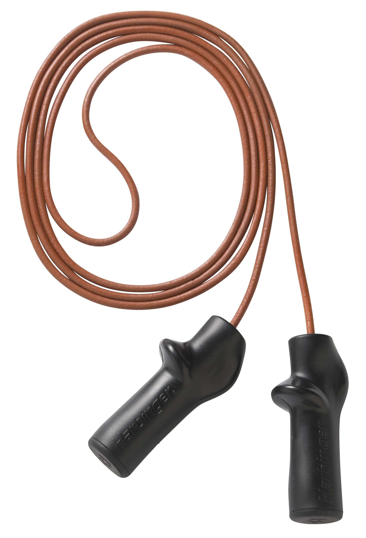 Harbinger 9 ft Trigger Handle leren springtouw