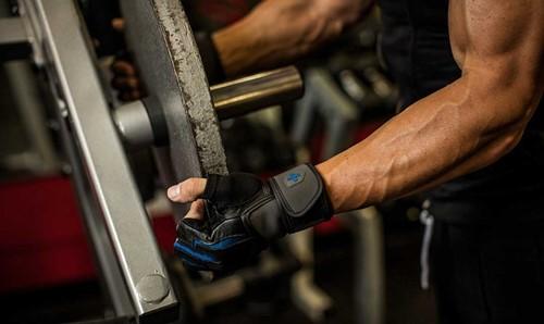 Harbinger Training Grip Fitness handschoenen halterschijf