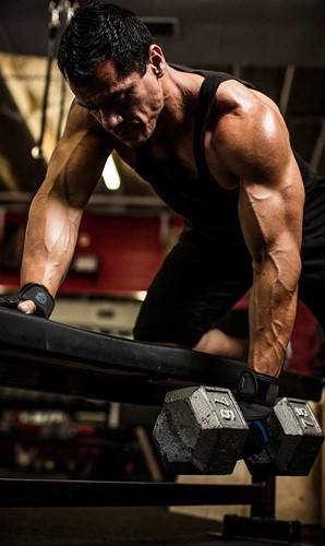 Harbinger Training Grip Fitness handschoenen training back