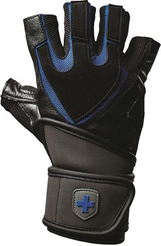 Harbinger Training Grip Fitness Handschoenen Black/Blue-3