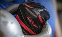 Harbinger FlexFit Wash & Dry Fitness Handschoenen Black/Red Kettlebell
