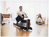 waterrower club roeitrainer model