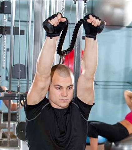 Harbinger Triceps Touw - Tricep Rope - 90 cm-2