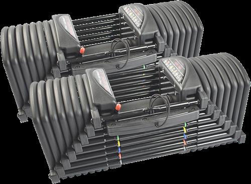 PowerBlock Pro EXP Set 5-90 - Verstelbare dumbbellset - 2,2 tot 40,8 kg