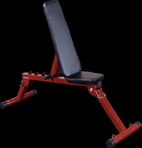 Body-Solid (Best Fitness) Fid Bench - Rood - Tweedekans