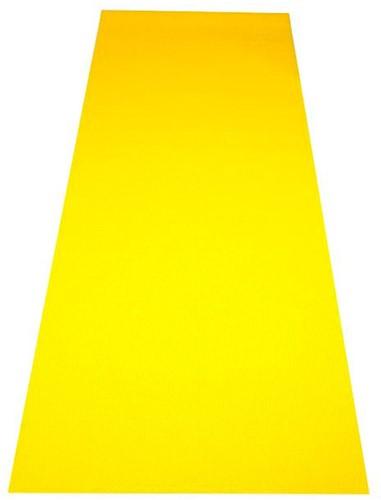 Reha Fit Fitnessmat - Yogamat - Geel-Oranje 180x61 cm