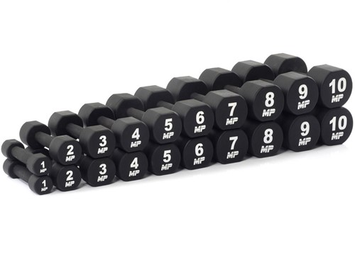 Muscle Power PU Dumbbell Set - 20 x 1-10 kg
