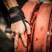 Harbinger Pro Thumb Loop Wrist Wrap - lifestyle 3