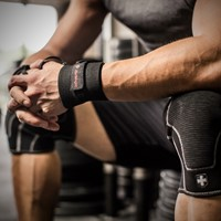 Harbinger Pro Thumb Loop Wrist Wrap-3