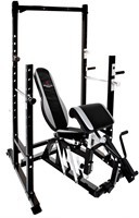 Bruce Lee Dragon Power Rack Halterbank