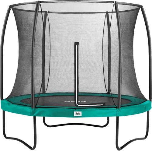 Salta Comfort Edition Trampoline met Veiligheidsnet - 251 cm - Groen