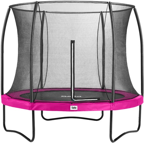 Salta Comfort Edition Trampoline met Veiligheidsnet - 213 cm - Roze