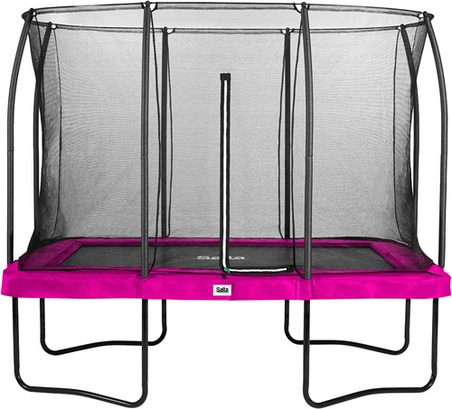Salta Comfort Edition Trampoline met Veiligheidsnet - 214 x 305 cm - Roze