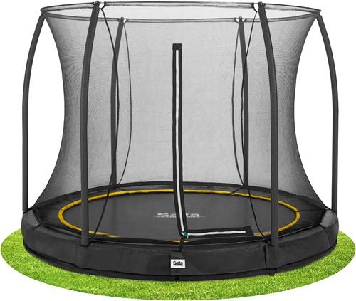 Salta Comfort Edition Ground Trampoline met Veiligheidsnet - 183 cm - Zwart