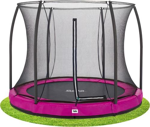 Salta Comfort Edition Ground Trampoline met Veiligheidsnet - 305 cm - Roze