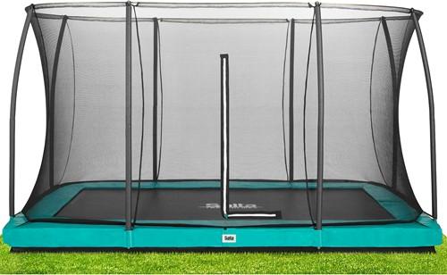 Salta - Comfort Edition Ground Trampoline met Veiligheidsnet - 244 x 366 cm - Groen