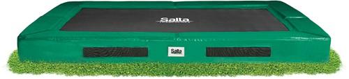 Salta Excellent Ground Trampoline - 153 x 214 cm - Groen