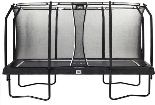Salta Premium Edition Trampoline met Veiligheidsnet - Zwart - 396 x 244 cm