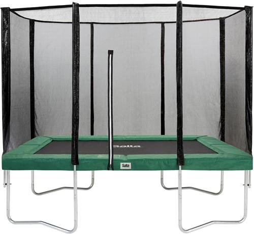 Salta Combo Trampoline met Veiligheidsnet - 153 x 214 cm - Groen