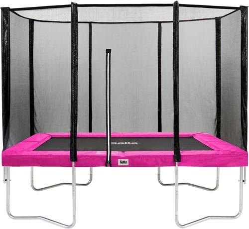 Salta Combo Trampoline met Veiligheidsnet - 214 x 305 cm - Roze