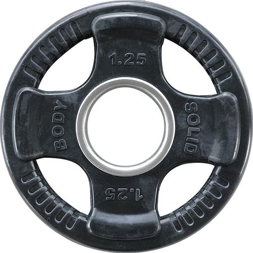 Body-Solid Olympische Rubber Halterschijf 1.25kg