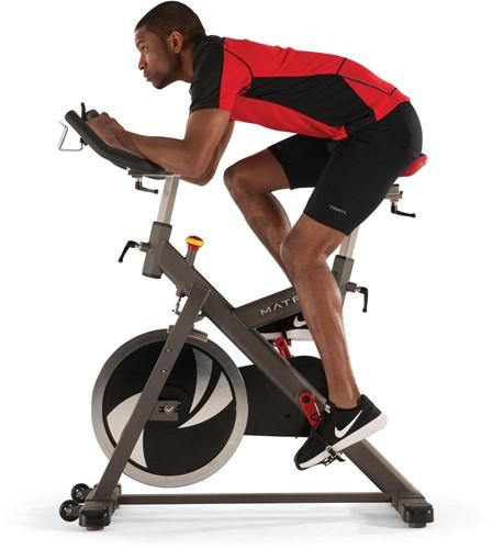 Matrix Indoor Cycle ES fietsen zijkant