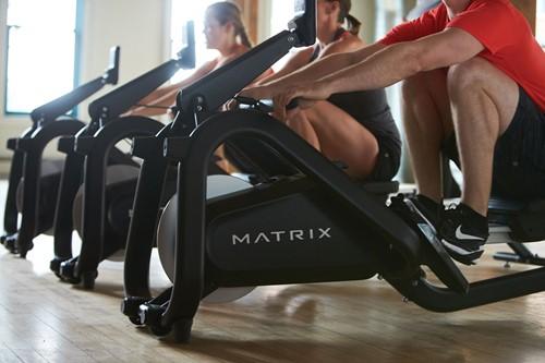 Matrix roeitrainer lifestyle roeien op een rij