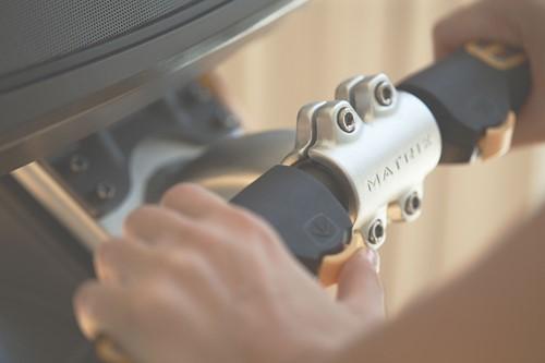 Matrix U50 Hometrainer XR Stuur Detail